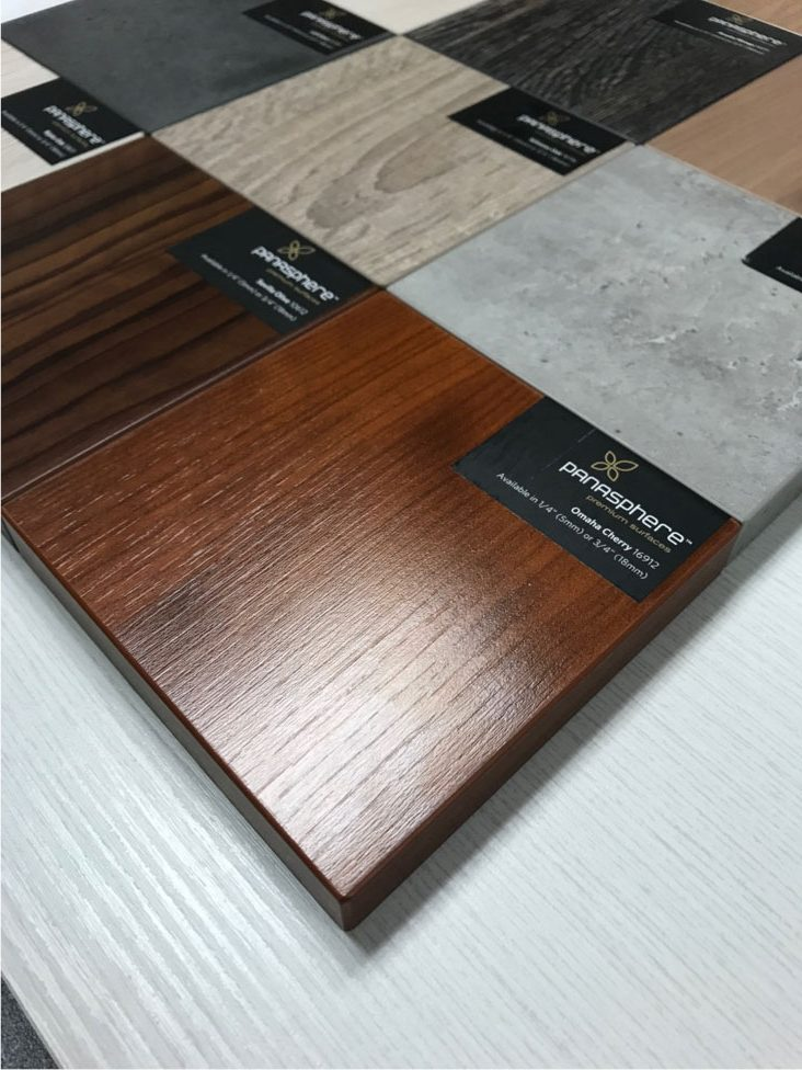 Cabinet Doors Hpl Melamine Veneer Komponents Laminated
