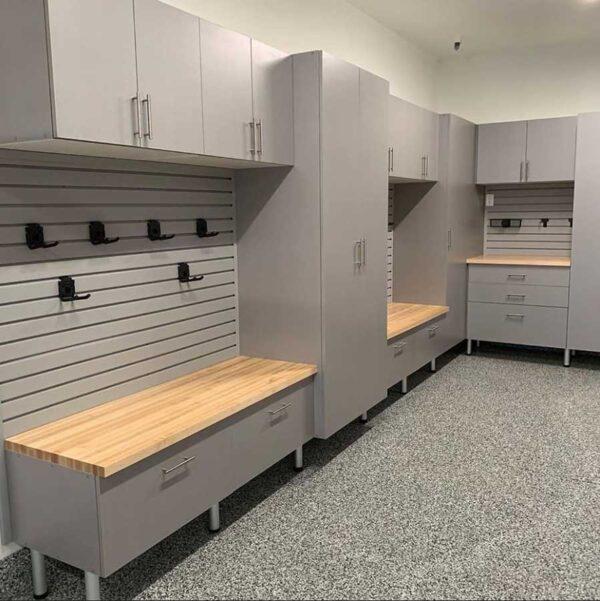 Garage Cabinets Grey